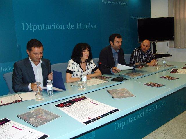 Presentación de la 38 edición del Festival de Cante Flamenco de Moguer (Huelva).