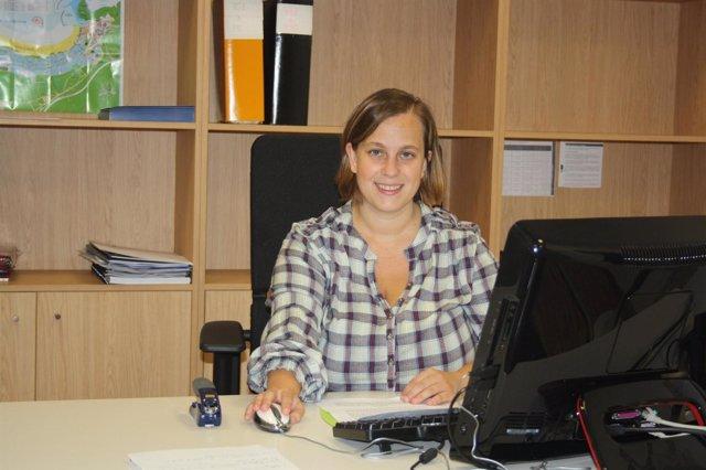 La concejal de Empleo, Promoción Económica y Comercio, Rebeca Escudero