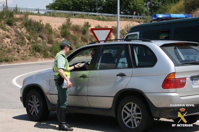 Control De Alcoholemia Guardia Civil