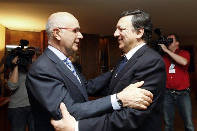 Reunión Entre Josep Antoni Duran Y José Manuel Durao Barroso