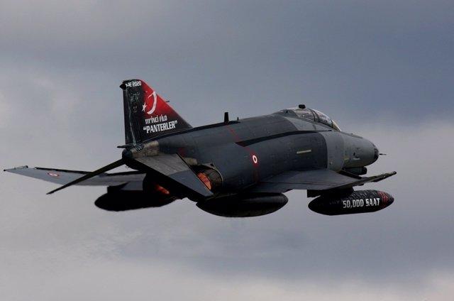 F4 Phantom De La Fuerza Aérea Turca