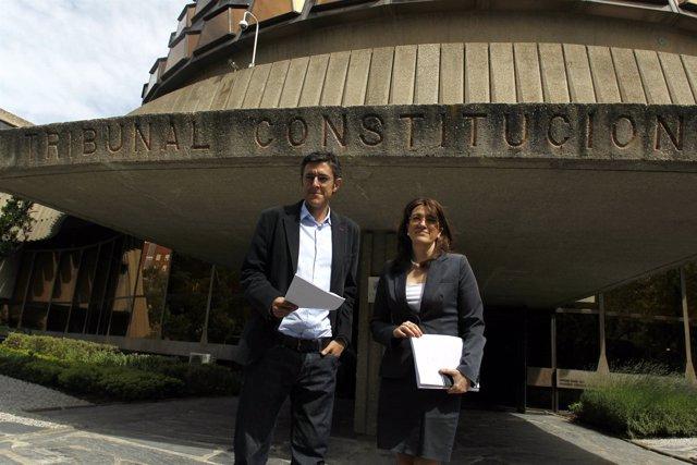 Soraya Rodríguez Y Eduardo Madina Entregan Recurso Al Decreto De RTVE