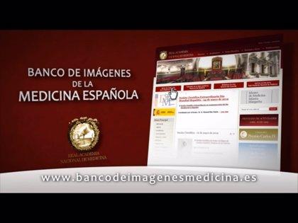 La RANM lanza en Internet el primer banco de imágenes de la Medicina española