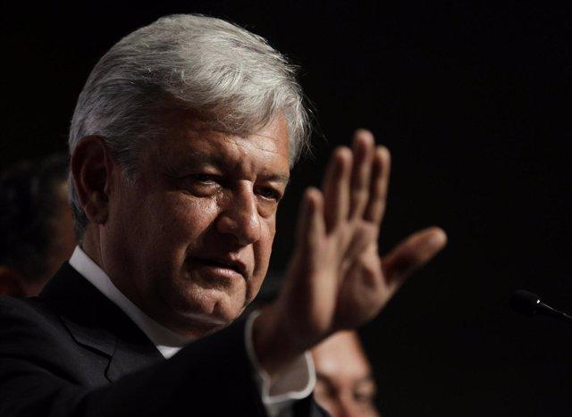 Candidato Del Movimiento Progresista, Andrés Manuel López Obrador