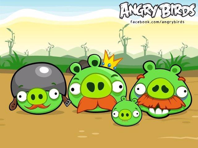 Cerdos de Angry Birds