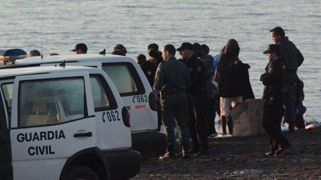 Nueva Llegada De Inmigrantes A Ceuta