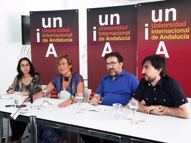 Antonio Manfredi en la UNIA.