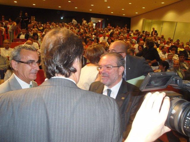 Joan Reñé (pte.Diputación de Lleida) ante 300 cargos municipales de la provincia
