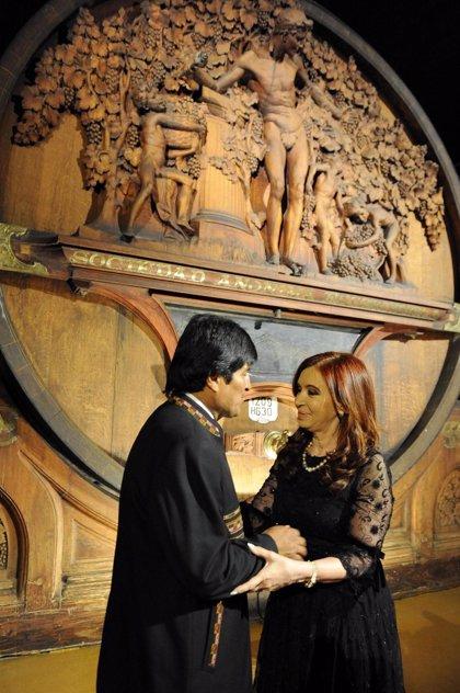 Bolivia/Argentina.- Fernández de Kirchner viajará la próxima semana a Bolivia para reunirse con Evo Morales