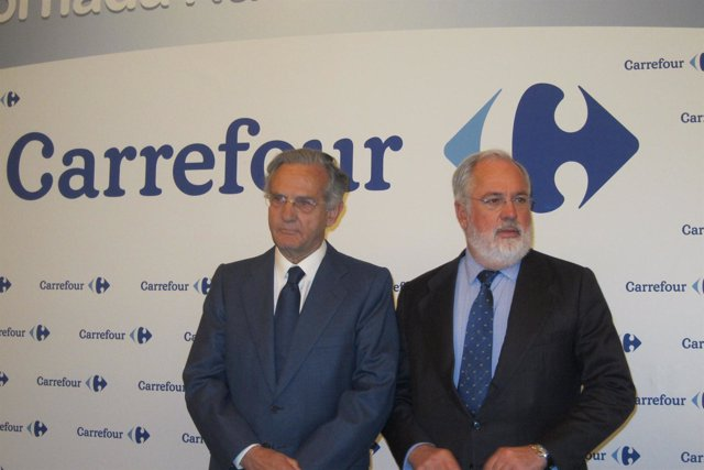 Rafael Arias-Salgado Con Miguel Arias Cañete