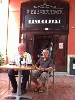 El presidente de Xarxa Cinema, Pedro Barbadillo