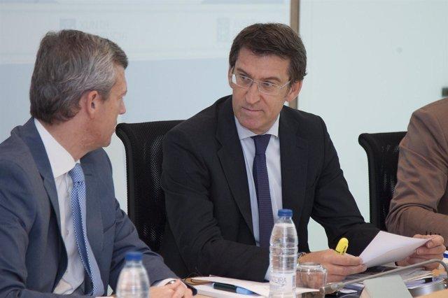 O mandatario galego, Alberto Núñez Feijóo, presidirá a reunión semanal do Consel