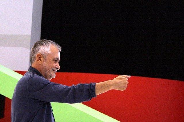 Griñán, en el Congreso Regional del PSOE-A