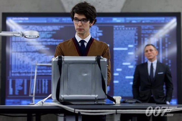 Ben Whishaw es Q en 007 James Bond Skyfall