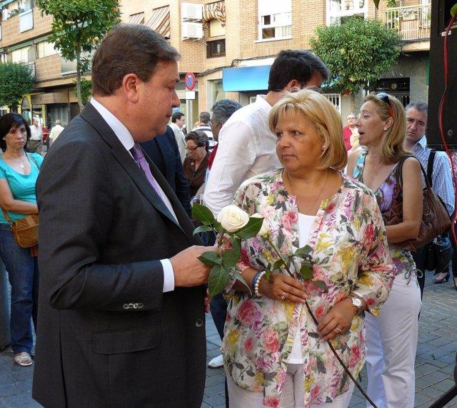 Juan Soler Y Presidenta De AVT