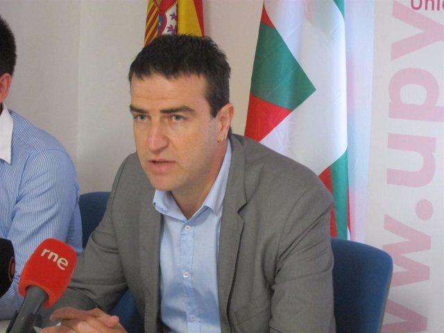 Gorka Maneiro, parlamentario de UPyD