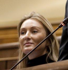 Andrea Fabra, diputada del PP