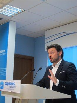 Antonio Rodríguez Miranda, portavoz del PPdeG