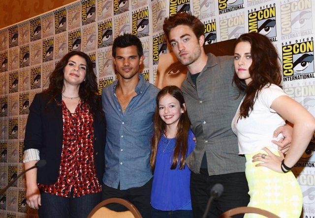 """Las estrellas de """"Crepúsculo"""" en la Comic-Con"""