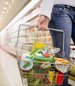 Cesto De Compra Supermercado