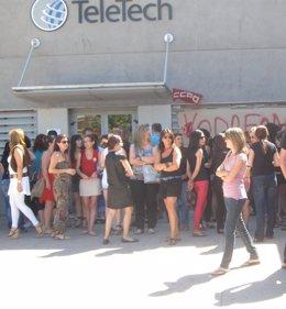 Trabajadores Teletech Toledo
