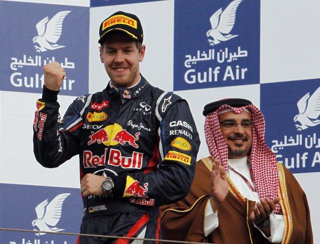 Sebastian Vettel Gana En Bahréin