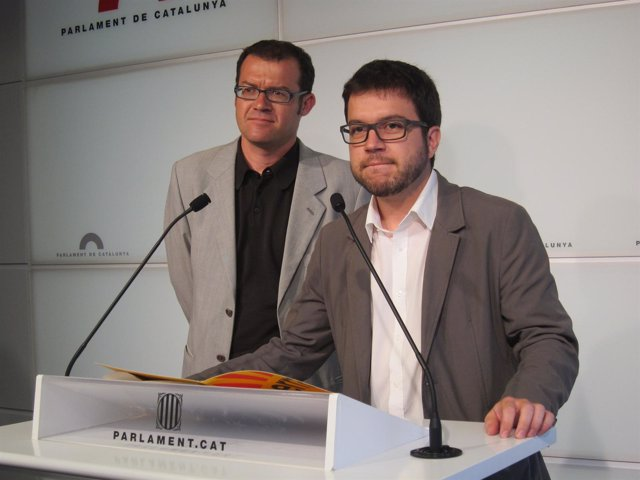 Sergi De Los Ríos Y Pere Aragonès, ERC