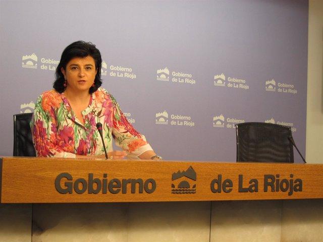 Concepción Arruga, consejera de Administraciòn Pública y Hacienda