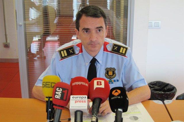 Comisario jefe de Barcelona de Mossos J.C. Molinero