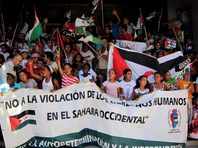 Los Niños Saharauis Que Van A Pasar El Verano En Castilla Y León