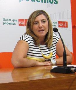Irene García, candidata a la Secretaría General del PSOE de Cádiz