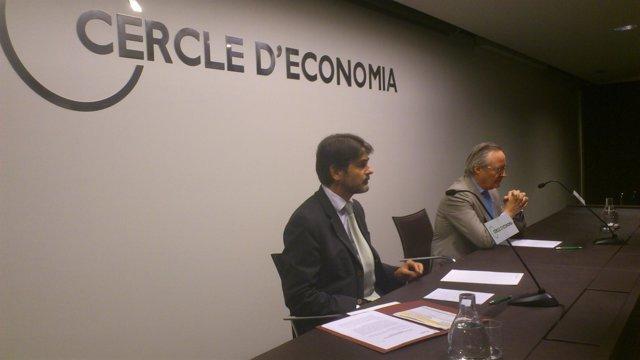 Oriol Pujol en el Círculo de Economía