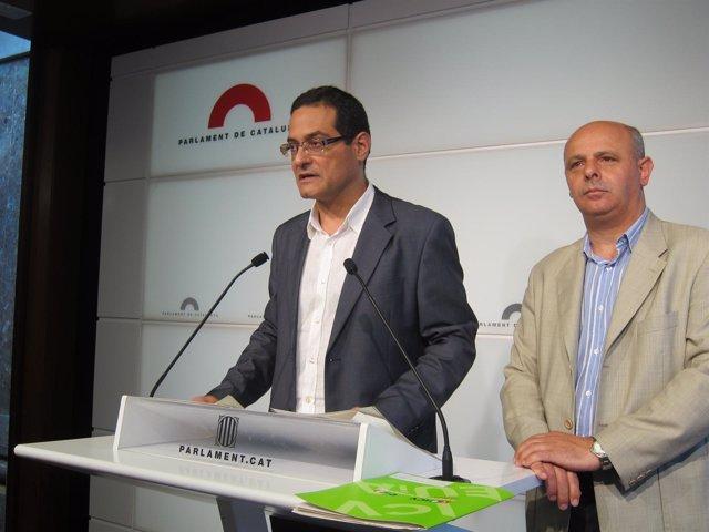 Josep Vendrell Y Joan Boada, ICV-Euia