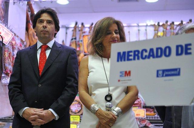 Percival Manglano y Ana Botella