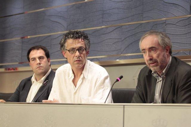 Portavoz de Amaiur en el Congreso, Xabier Mikel Errekondo