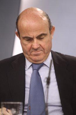Guindos, Montoro y Santamaría en el Consejo de Ministros