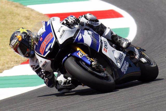 Jorge Lorenzo, libres del GP Italia