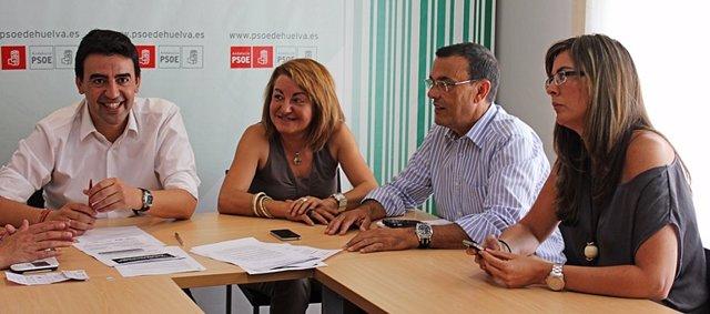 Ejecutiva del PSOE de Huelva.