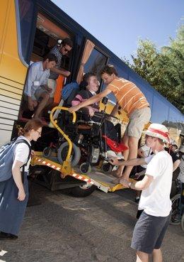 Peregrinos Discapacitados De La JMJ