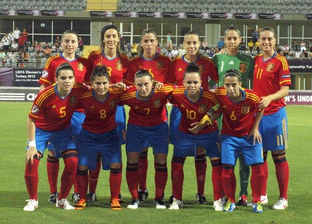 La selección española Sub-19 femenina