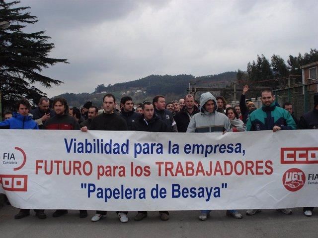 Una De Las Manifestaciones Llevadas A Cabo Por Los Trabajadores De NPB