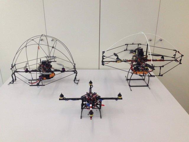 Cuatricóptero Diseñado Por La UPV
