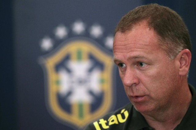 El seleccionado brasileño Mano Menezes