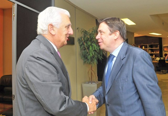 Santiago Herrero y Luis Planas