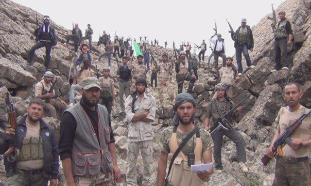 Rebeldes Sirios, Miembros Del Ejército Libre Sirio