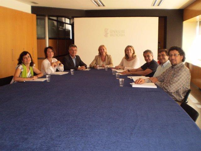 Carolina Martínez en la jornada sobre menores en la UA