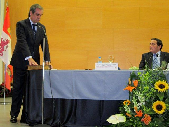Aguilar Toma Posesión Como Presidente Del Concyl En Presencia De Sáez Aguado