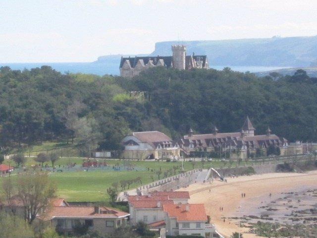 Vista Playa Y Palacio Magdalena
