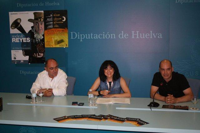 La diputada de Cultura en Huelva, Elena Tobar.