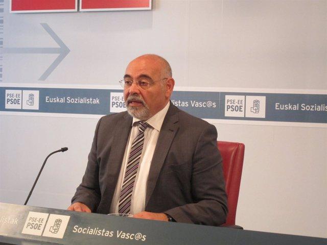 José Antonio Pastor, portavoz del PSE-EE